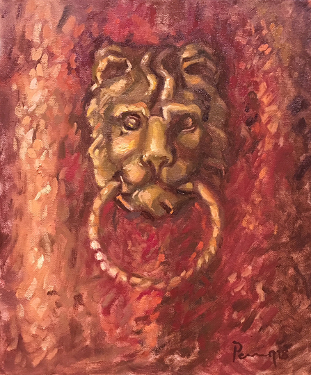 #4 Brass Lion