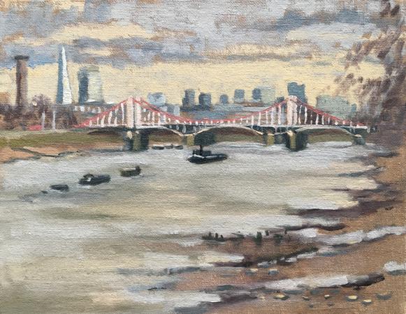 #29 Chelsea Bridge form BatterseaPark